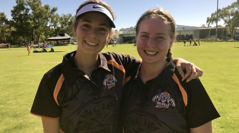 Your Captains Jizelle and Mikayala sporting the new Melville Roar polo shirts