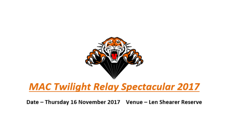 MAC Twilight Realy Spectacular 2017 this Thursday