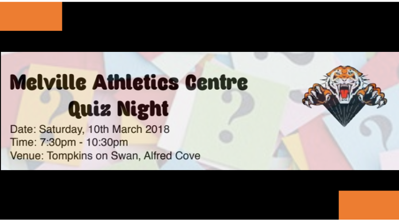 Quiz Night – grab your friends and join us for a night to remember