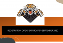 Summer Season Registration Opens 5th September 2020